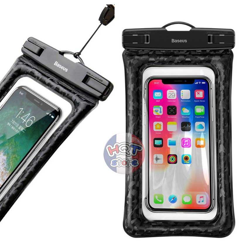 Túi chống nước cao cấp Baseus 6 inch cho điện thoại