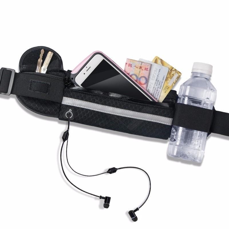 Túi đai đeo bụng chống nước có dải phát quang