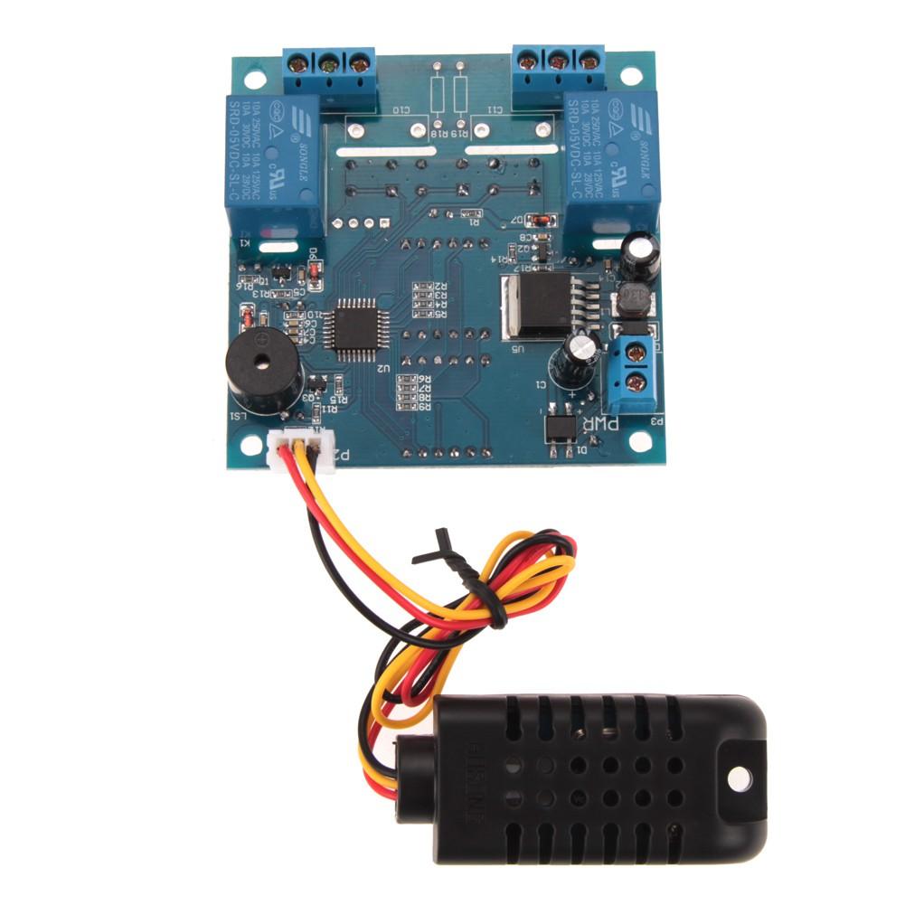 Rơ le điều khiển nhiệt độ thông minh AC / DC 12V