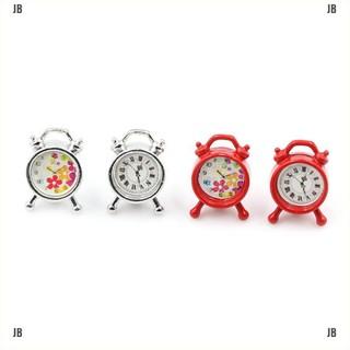 JB&Dollhouse Miniature Model Mini Alarm Clock 1/12 Dollhouse Living Room Decor