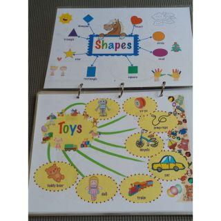 Flashcard Tiếng Anh 22 chủ đề hấp dẫn màu sắc cho trẻ em mọi lứa tuổi vừa học vừa chơi, đóng ép plastic bền đẹp