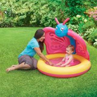 Bể bơi bơm hơi cho bé – hình bướm dễ thương