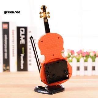 Đồng Hồ Báo Thức Để Bàn Hình Cây Đàn Violin Cổ Điển