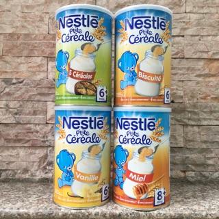 Bột lắc Nestle vị Vani, Mật ong, biscuit, tổng hợp 5 vị ngũ cốc
