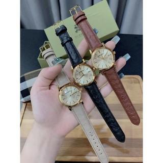 [Siêu Phẩm] [HOT HOT] Đồng hồ nữ Burberry dây da cao cấp thumbnail