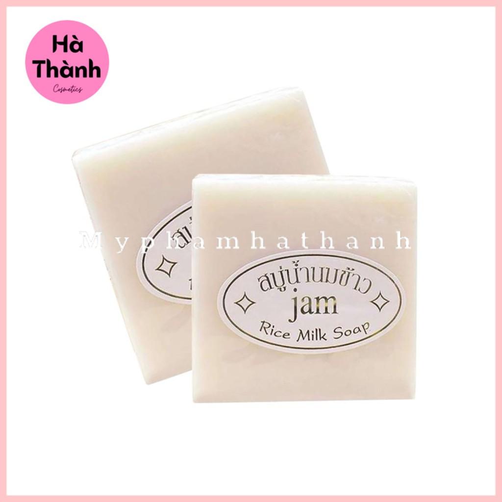 Xà Phòng Cám Gạo - Xà Phòng Trắng Da Thái Lan Jam Rice Milk Soap