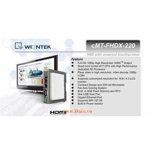 cMT-FHDX-220 Bộ giao tiếp hiển thị Tivi HDMI Weintek cMT