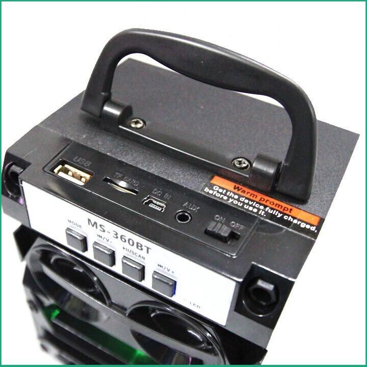 (Siêu Phẩm) Loa gỗ Bluetooth xách tay MS-360BT tiện ích - 14330672 , 2288038897 , 322_2288038897 , 280000 , Sieu-Pham-Loa-go-Bluetooth-xach-tay-MS-360BT-tien-ich-322_2288038897 , shopee.vn , (Siêu Phẩm) Loa gỗ Bluetooth xách tay MS-360BT tiện ích