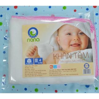 Khăn tắm xô 4 lớp Nana (75*90cm)
