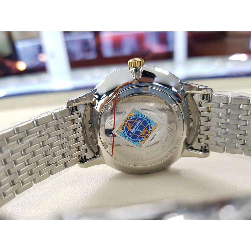 Đồng hồ nam dây kim loại Olym Pianus OP5709 OP5709MSK trắng