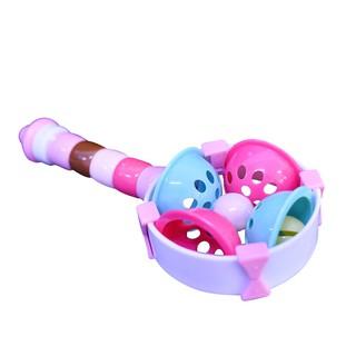 Đồ chơi xúc xắc PAPA, kiểu dáng dễ thương tạo âm thanh lôi cuốn làm cho bé cảm thấy thích thú TOY3010