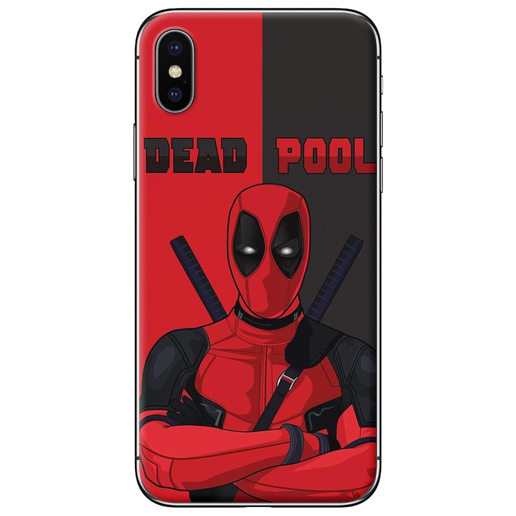 Ốp lưng iPhone X - nhựa dẻo Deadpool