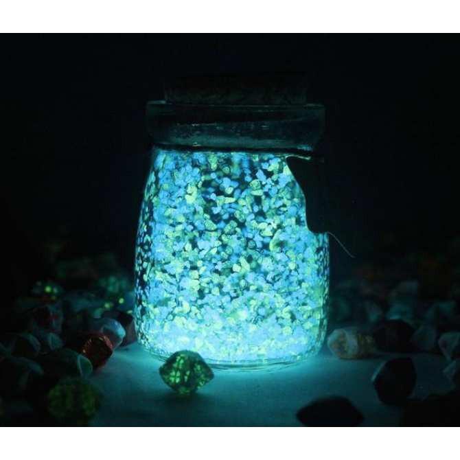 (M01) 5 Lọ ước trang trí-Lọ ước Phát Sáng (5 màu )-f71 thuthuyshop169