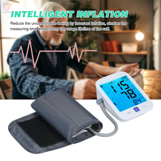 ET U81NH Automatic Upper-arm Blood Pressure Monitor Digital Blood Pressure Meter with Large Cuff Fits 8.7-inch to 16.5-inch Upper-arm Support 2×90 Sets of Data Record Pulse Machine BP Meter for Medical Household Use