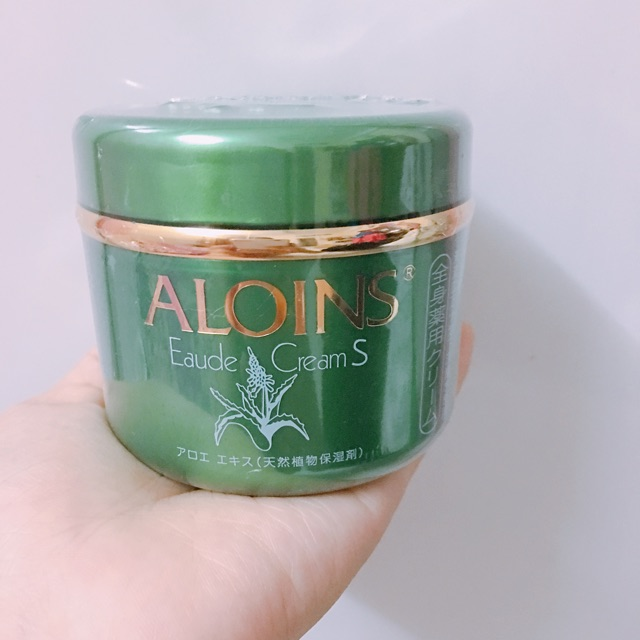 Kem dưỡng da toàn thân Aloins Eaude Creams