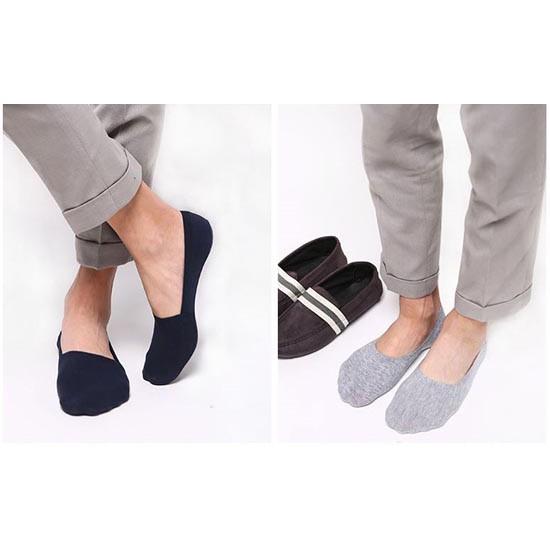 Bộ 10 đôi tất Nam giày lười loại đẹp