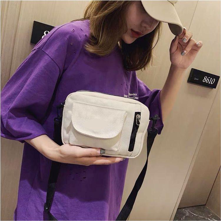 [ CHUYÊN SỈ ] Túi đeo chéo nữ mini vải canvas đi chơi cao cấp phong cách Hàn Quốc
