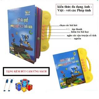Bộ Sách Nói Song Ngữ Anh Việt Cho Bé thumbnail