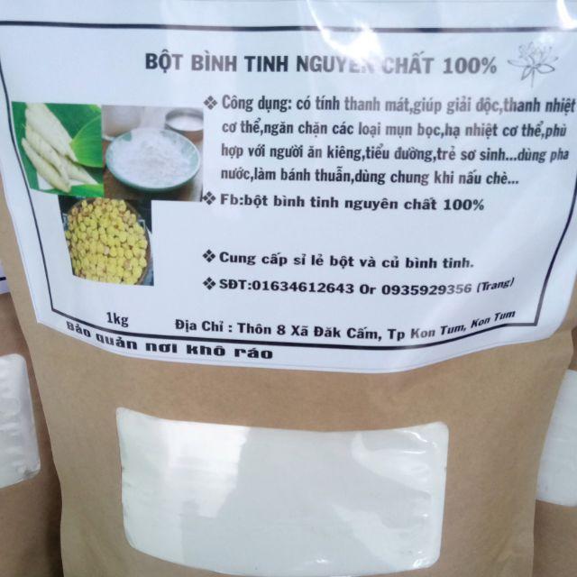 Bột bình tinh nguyên chất 100% (Bột mì tinh, bột củ dong)