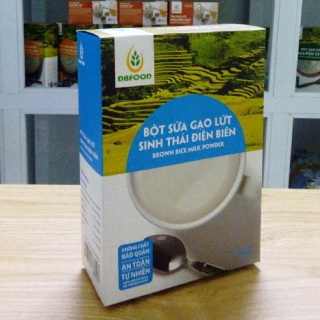 Bột sữa gạo lứt sinh thái Điện Biên 250g