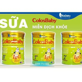 Sữa Non ColosBaBy 800g Số 0-1-2 Mẫu Mới Date 2022