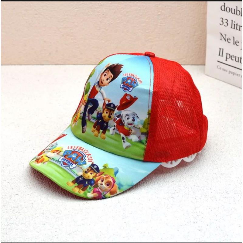 Mũ/Nón bé trai hình Đội chó cứu hộ/ Mũ Lưỡi trai cho bé trai