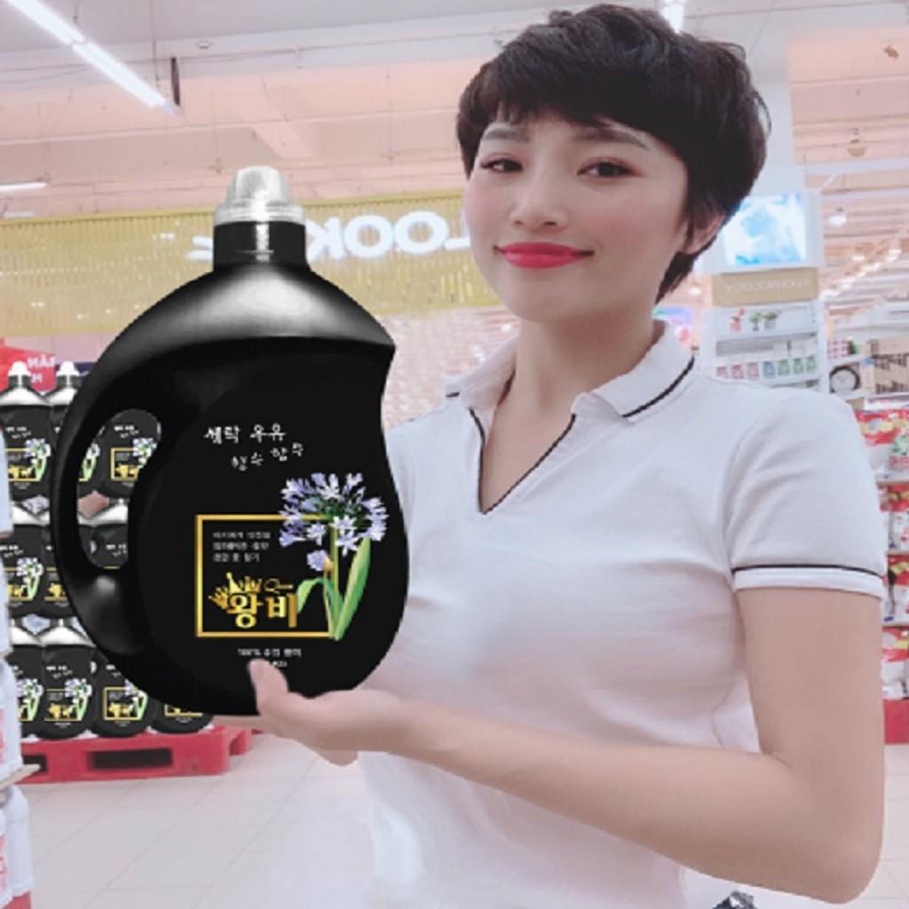 [HOT HOT]Nước Giặt Xả Nữ Hoàng Hàn Quốc 9in1 (QUEEN 3,8L) (dùng cho cả trẻ em)