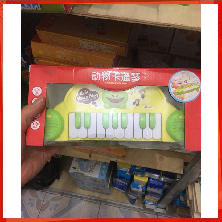 [CỰC ĐẸP] Đàn piano hình động vật dễ thương cho bé [SỈ - LẺ]