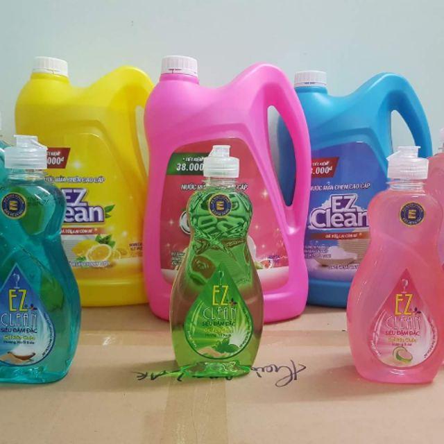 Nước rửa chén EZ 4kg( có 4 mùi chanh, trà xanh, bưởi, muối biển) - 3172534 , 659125595 , 322_659125595 , 89000 , Nuoc-rua-chen-EZ-4kg-co-4-mui-chanh-tra-xanh-buoi-muoi-bien-322_659125595 , shopee.vn , Nước rửa chén EZ 4kg( có 4 mùi chanh, trà xanh, bưởi, muối biển)