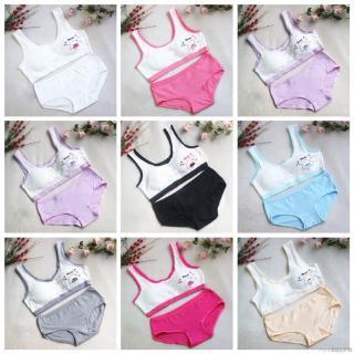 💕 My Baby 💕 Bộ đồ lót cotton mềm mại dễ thương cho bé gái