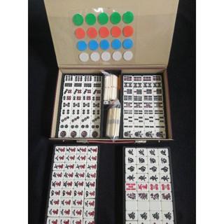 Bộ mạt chược nội địa Nhật mặt nhựa, số 07, size 25, 2nd