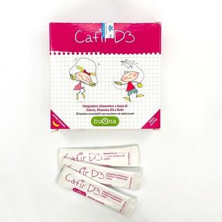 Canxi Cafir D3 hộp 20 gói bổ sung canxi và vitamin D3 qua phức hợp nấm sữa Kefir thumbnail