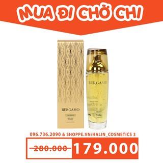 Tinh chất dưỡng da FREESHIP Tinh chất dưỡng da Bergamo 24K Gold Brilliant Essence HALIN9090 Cao Cấp