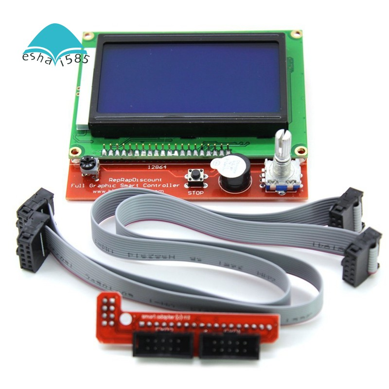 Lcd 12864 Version Graphic Smart Display Controller Module Wi