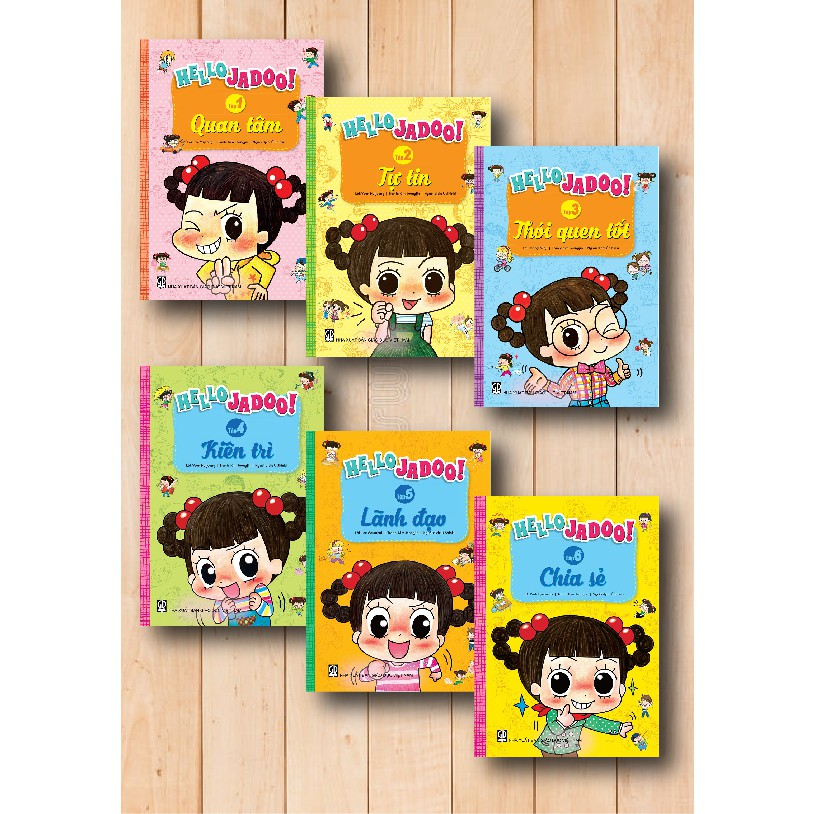 Bộ truyện tranh Hello Jadoo (6 tập) - 3262219 , 882466065 , 322_882466065 , 414000 , Bo-truyen-tranh-Hello-Jadoo-6-tap-322_882466065 , shopee.vn , Bộ truyện tranh Hello Jadoo (6 tập)