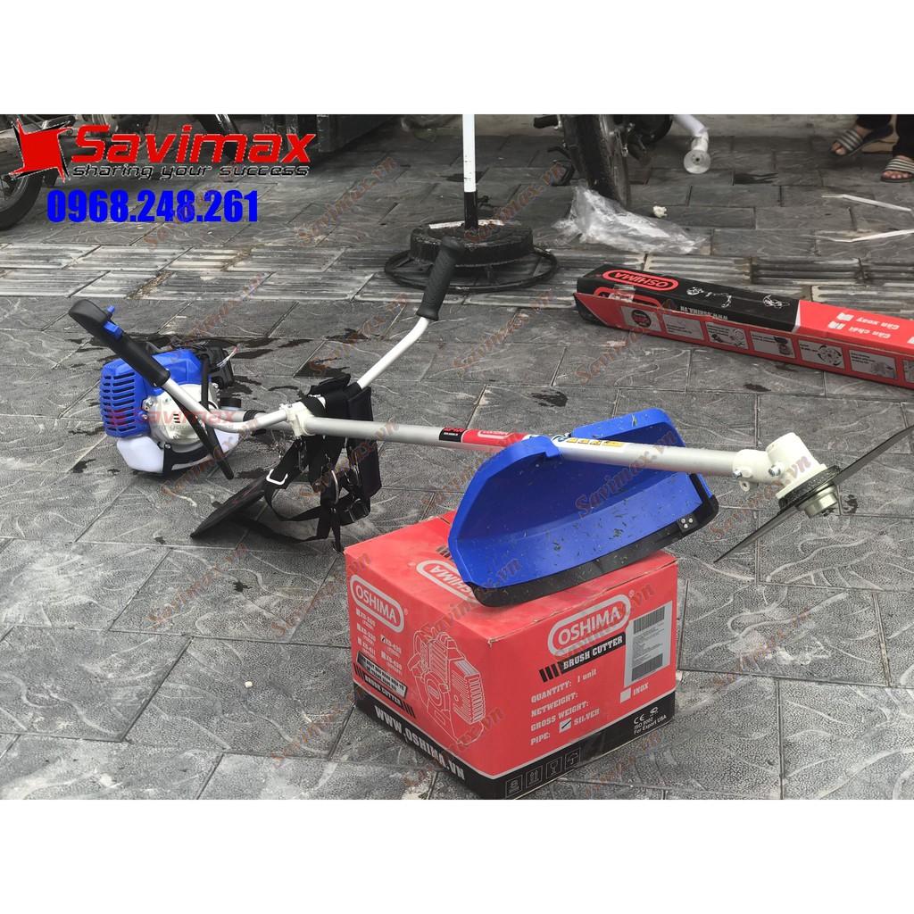 Máy cắt cỏ cho cá ăn OSHIMA XD-430, cần xoay, thùng rời mẫu mới nhất - Bảo hành 12 tháng
