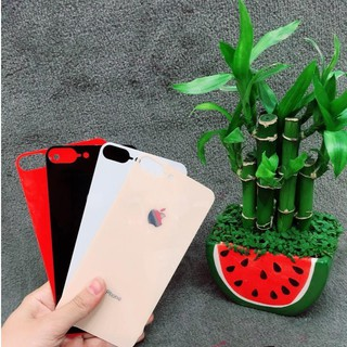 Cường Lực mặt lưng giả iphone 8+ ốp silicon trong cao cấp cho iPhone 6/6plus/7/7plus/8/8plus