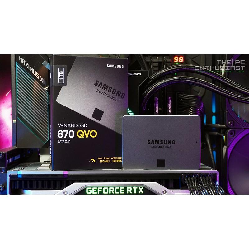 Ổ cứng SSD Samsung 870 Qvo 1TB new chính hãng bảo hành 36 tháng