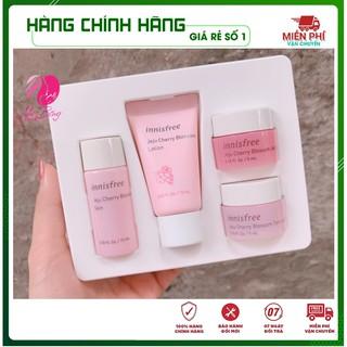 [Hàng Auth Hàn Quốc] Bộ Dưỡng Trắng Da - Bộ dưỡng da chiết xuất Từ Hoa Anh Đào Innisfree Jeju Cherry Blossom Kit thumbnail