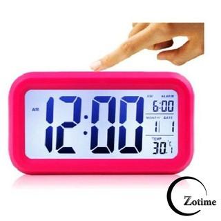 Đồng hồ báo thức điện tử để bàn màn hình LCD đa chức năng ZO89 siêu hot