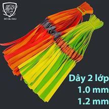 Dây ná cao su dẹt 2 lớp dày 1mm và 1,2mm