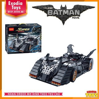 Mô hình lắp ráp The Batmobile: Ultimate Collectors Edition | DECOOL 7116 – Lego Ieads 7784