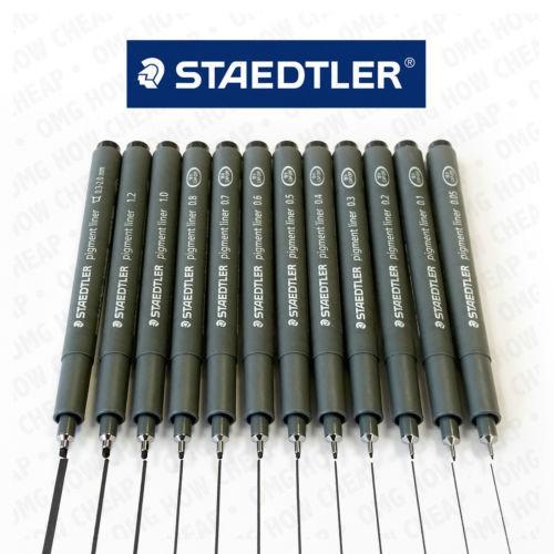 Bút dạ kim số kỹ thuật STAEDTLER 308 mực đen (từ 0.5 mm -> 1.2 mm) | Shopee  Việt Nam