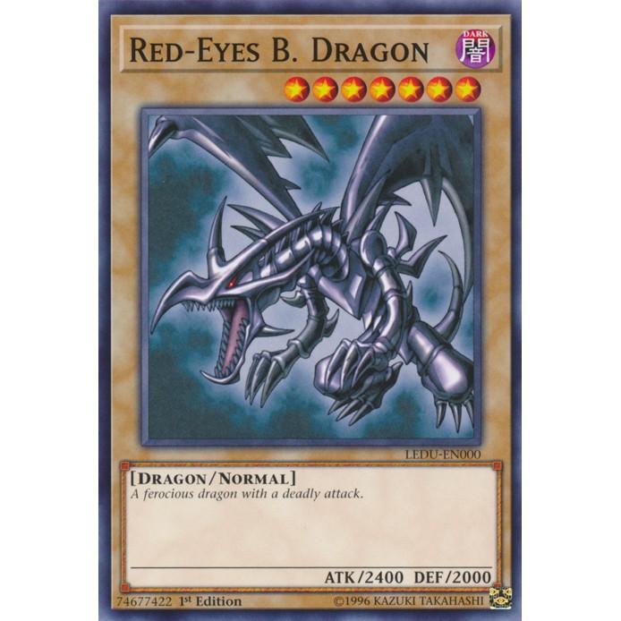 [BÀI IN YUGIOH] bộ bài Red eyes Black Dragon của Jonouchi