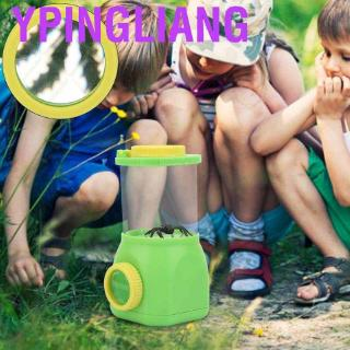 Ypingliang Portable Kids Explorer Toy Insect Observation Cup Magnifier Magnifying Glass