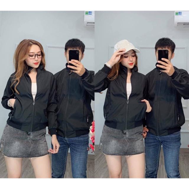 (Big size 95kg) áo khoác dù đôi nam nữ cao cấp