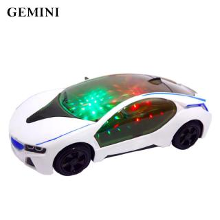 3D Super Flashing Car Wheel Light Kids Toy Plastics Above 3 Years Old Unique