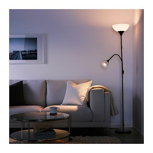 Đèn cây Not 2 BÓNG Ikea 28 x 27 x 175 cm (Đen)
