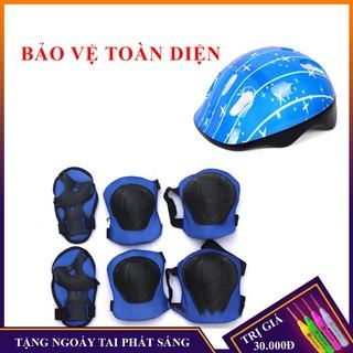 Bộ bảo vệ tay chân cho bé hàng chính hãng 6 món, 7 món từ 3-12 tuổi thumbnail