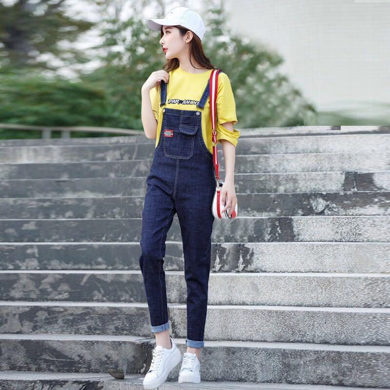 quần yếm dài thời trang dành cho nữ - 14565395 , 2744730958 , 322_2744730958 , 228300 , quan-yem-dai-thoi-trang-danh-cho-nu-322_2744730958 , shopee.vn , quần yếm dài thời trang dành cho nữ